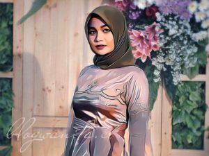kartun muslimah hijab