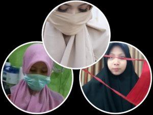 Aneka Masker Hijab atau Masker Jilbab Penangkal Virus Corona